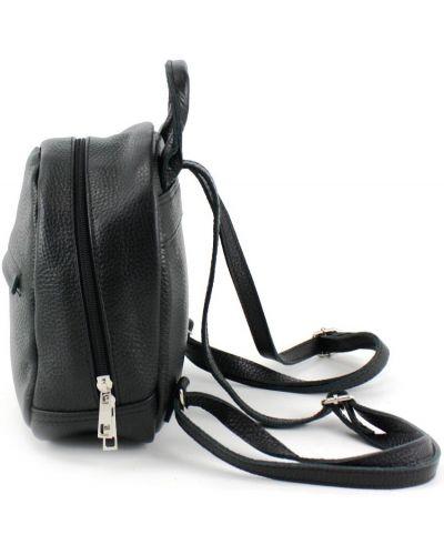 Кожаный рюкзак - черный Borsacomoda