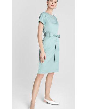 Платье мини через плечо с поясом Ostin