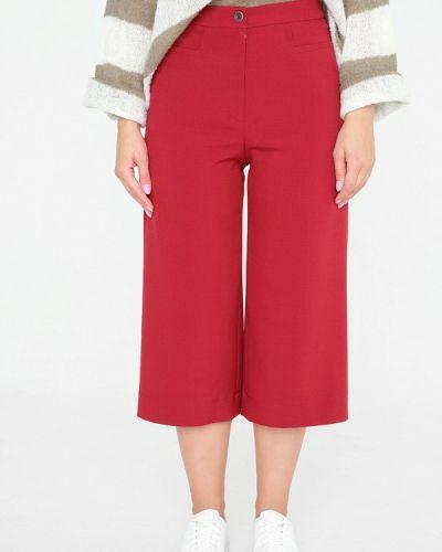 Свободные брюки бордовый красный Eliseeva Olesya
