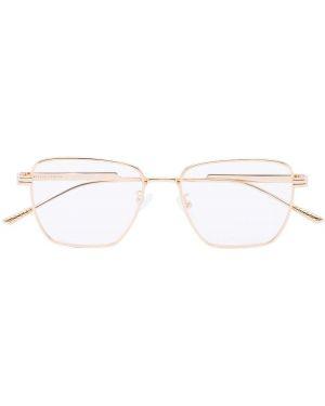Очки для зрения металлические - желтые Bottega Veneta