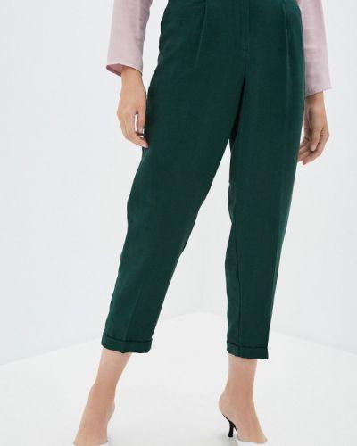 Повседневные зеленые брюки Zarina