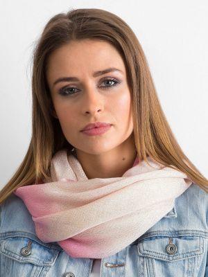 Komin bawełniany - różowy Fashionhunters