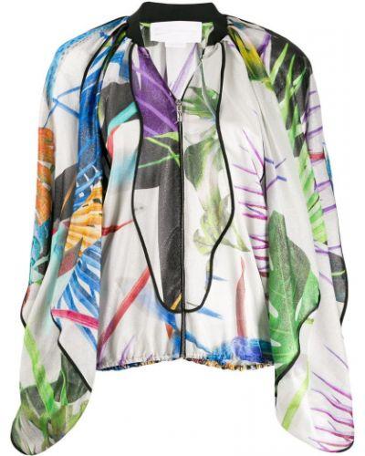 Облегченная куртка с манжетами Genny