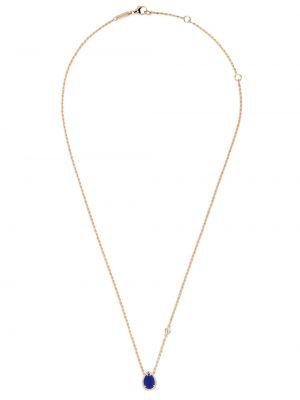 Złoty naszyjnik z diamentem elegancki Boucheron