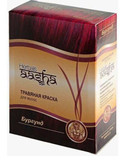 Краска для волос индийский бордовый Aasha Herbals