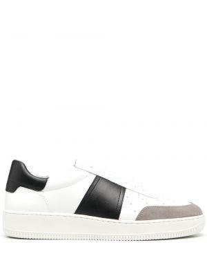 Кожаные кроссовки - белые Sandro Paris