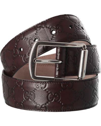 Ремень коричневый Gucci