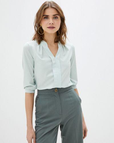 Бирюзовая с рукавами блузка Am One