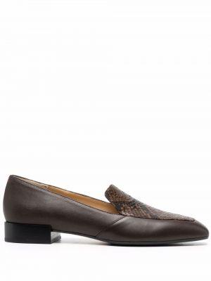 Brązowe loafers Aeyde