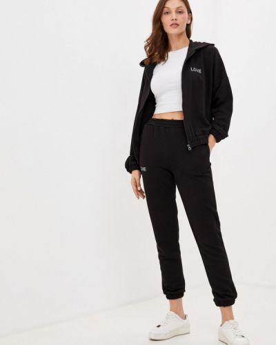 Костюмный черный спортивный костюм Winzor