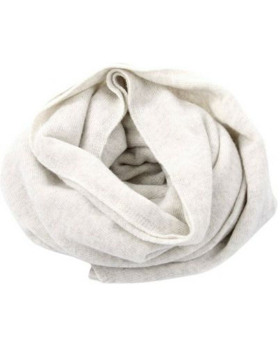 Biały szalik H953