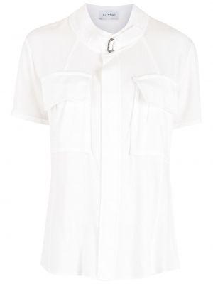 Рубашка с коротким рукавом - белая Olympiah