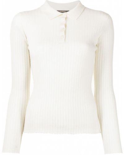 Biały z kaszmiru sweter N.peal