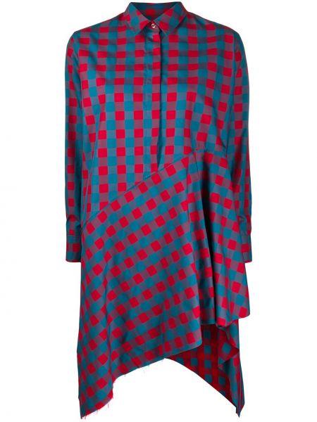 Платье на пуговицах классическое Marques'almeida