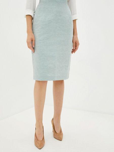 Зеленая прямая юбка карандаш Laroom