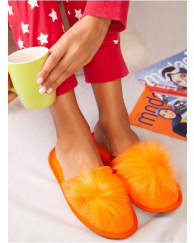 Оранжевые тапочки Rozetka