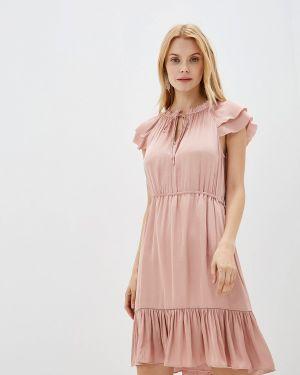 Платье розовое весеннее Banana Republic