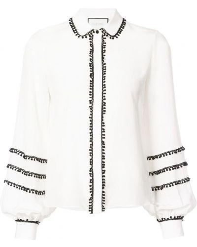 Блузка с длинным рукавом классическая длинная Alexis