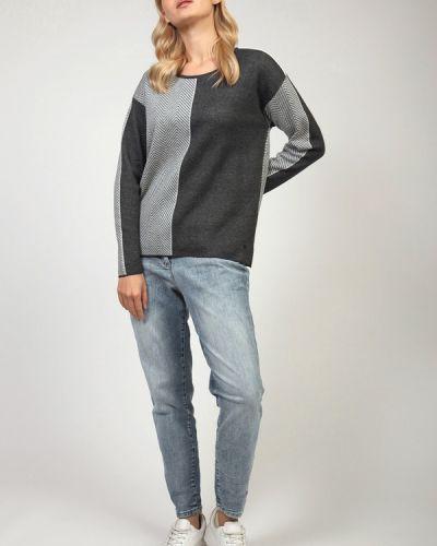 Хлопковый пуловер Olsen