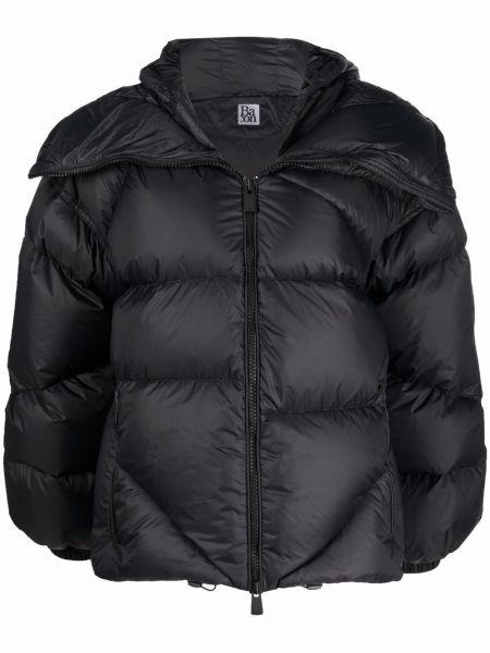 Куртка с капюшоном - черная Bacon