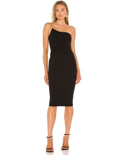 Czarna sukienka midi Nookie