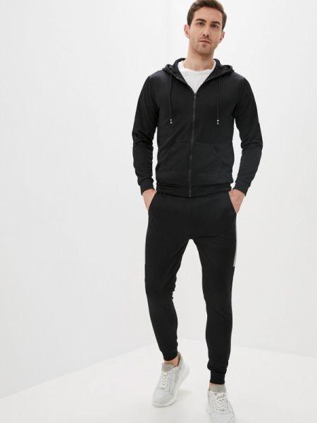 Костюмный черный костюм Aarhon