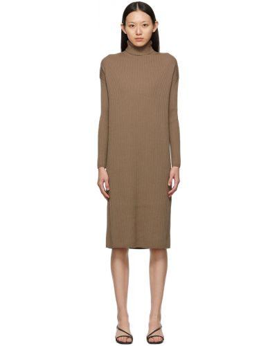 Sukienka długa z długimi rękawami S Max Mara