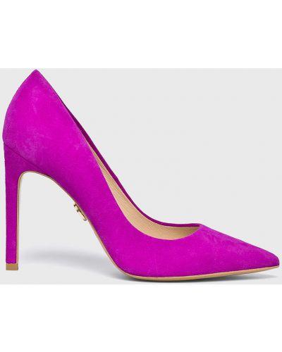 Туфли на каблуке - розовые Baldowski
