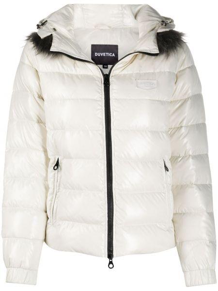 Куртка с капюшоном - белая Duvetica