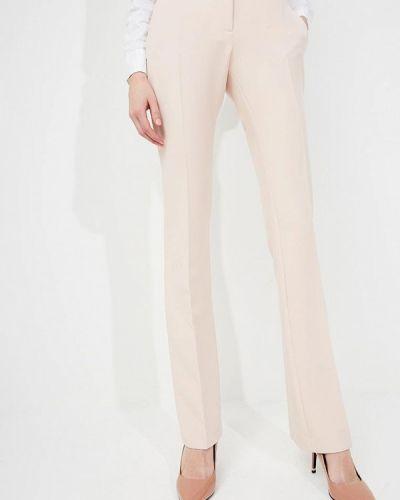 Розовые расклешенные брюки Liu Jo