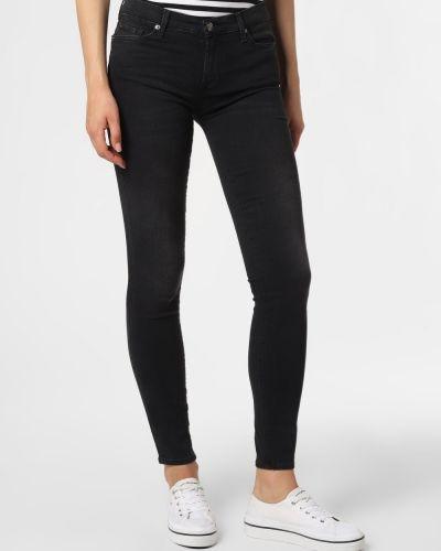 Spodnie - czarne 7 For All Mankind