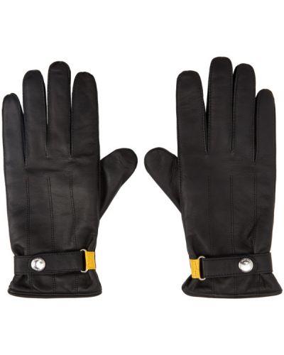 Шерстяные черные перчатки с подкладкой Ps By Paul Smith