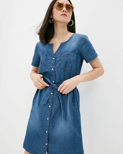 Синее платье летнее Jacqueline De Yong