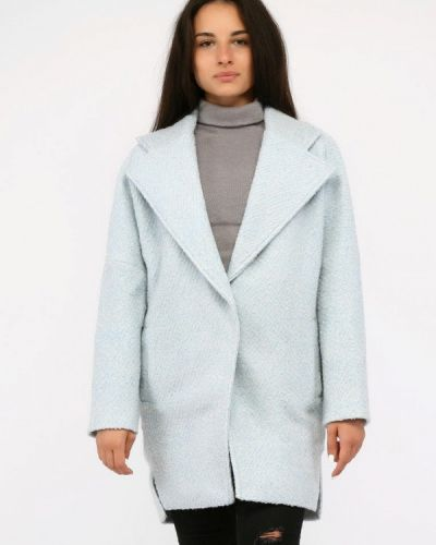 Пальто - голубое Sfn