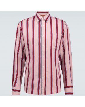 Koszula klasyczna długa niebieski Missoni