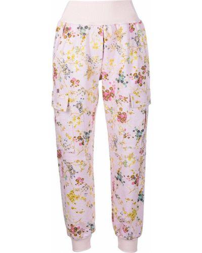 Зауженные брюки - розовые Cinq À Sept
