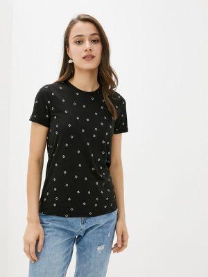 Черная футболка с короткими рукавами Brunotti
