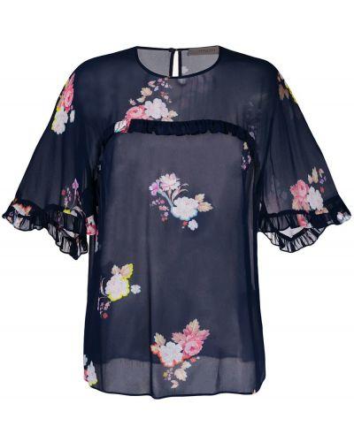 Свободная блузка с коротким рукавом с оборками Preen Line
