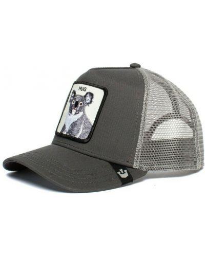 Szara czapka z daszkiem Goorin Bros