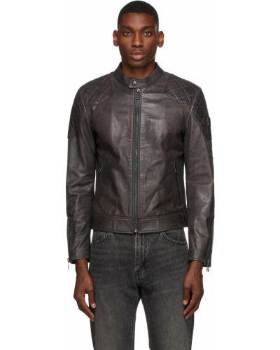 Кожаная кожаная куртка Belstaff