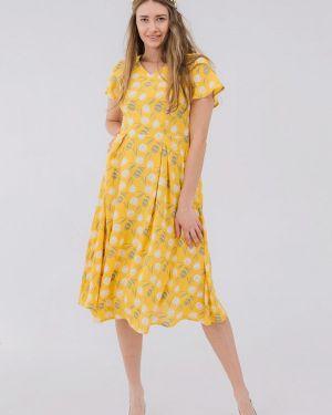 Желтое платье Bessa