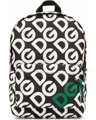 Plecak torba na plecak biały Dolce & Gabbana Kids
