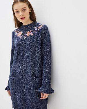 Платье осеннее вязаное Yumi