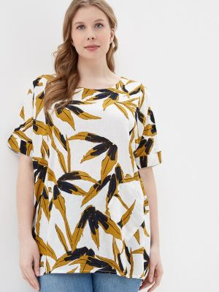 Блузка белая весенний Intikoma