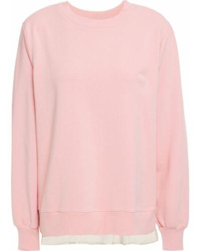 Хлопковый свитшот - розовый Clu