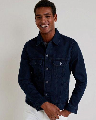 Джинсовая куртка синий Mango Man
