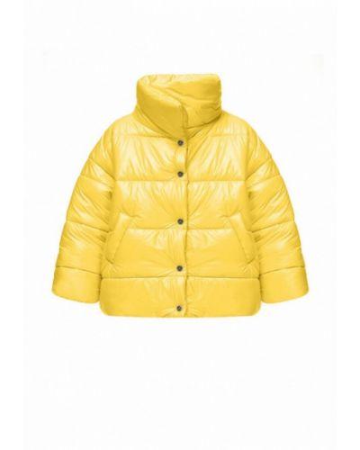 Теплая желтая куртка I-am