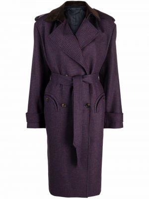 Синее пальто с карманами Blazé Milano