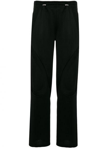 Czarne spodnie bawełniane Kiko Kostadinov