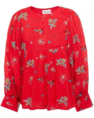 Bluzka z haftem Antik Batik